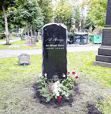 Image: Hemmelig hilsen på Aris grav