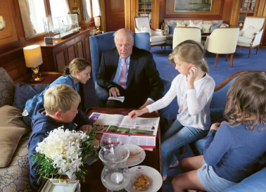 Image: Se dronning Sonjas private familiebilder