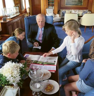 Image: Se dronning Sonjas private familiebilder