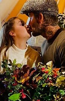 Image: Vekker oppsikt med kyssebilde