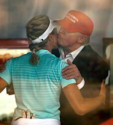 Image: Åpner opp om Trump-vennskapet