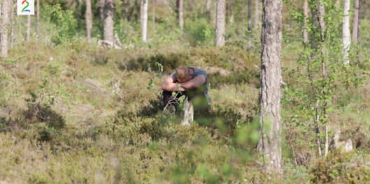 Image: «Jakten»-bonde bryter sammen