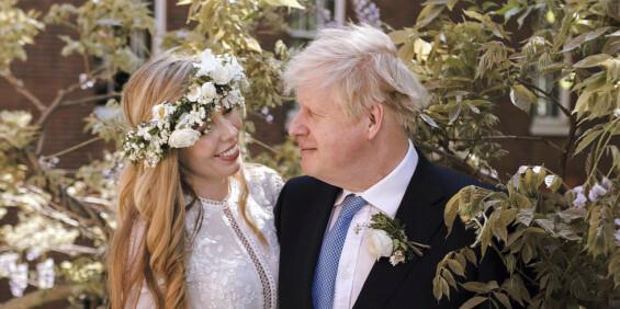 Image: Full forvirring etter bryllupet