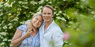 Image: Petter og Vendela lykkelige igjen