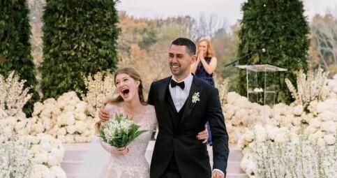 Image: Milliardærarvingen avslører bryllup